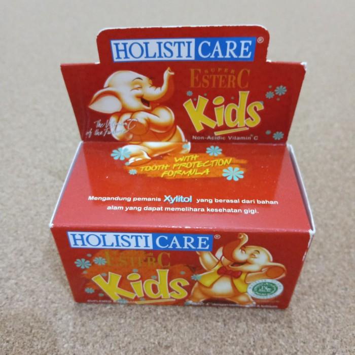 Foto Produk Ester C Holisticare Kids (Vitamin C Anak, Aman Di Lambung) dari Go Genki