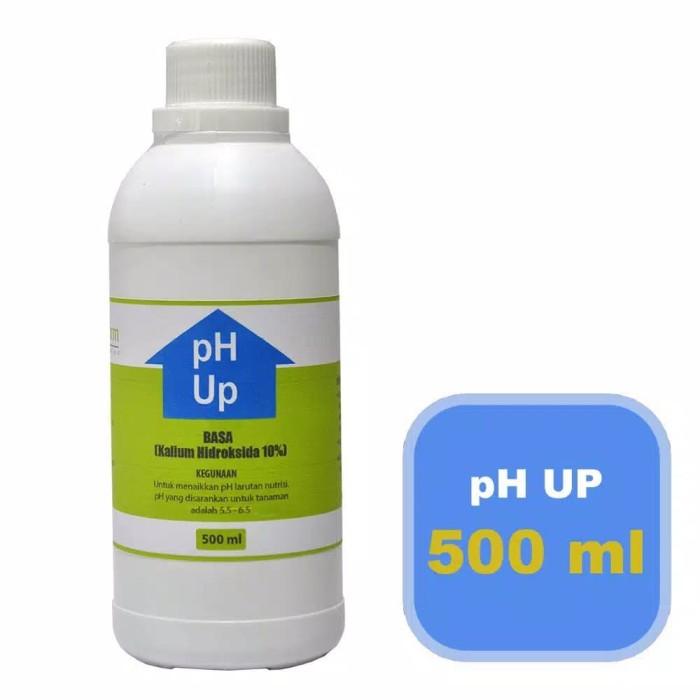 Foto Produk Jual pH UP Kemasan 500ml diformulasikan kusus hidroponik dari HoneeyShop