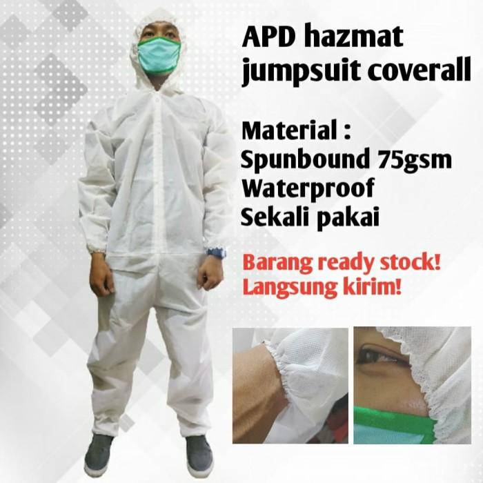 Foto Produk APD hazmat jumpsuit coverall dari matacapunk tshirt