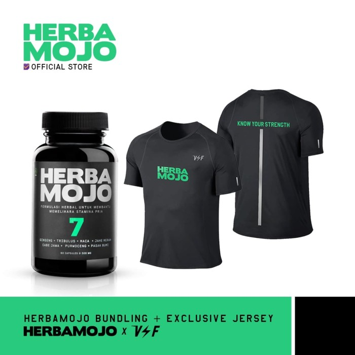 Foto Produk Herbamojo + Jersey VoltandFast dari Herbamojo