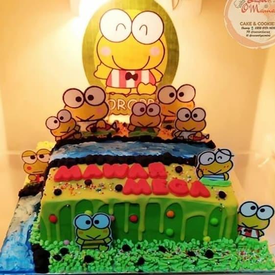 Jual Kue Ultah Keropi Ukuran 20 Kue Ulang Tahun Birthday Cake Jakarta Timur Saya Store Tokopedia