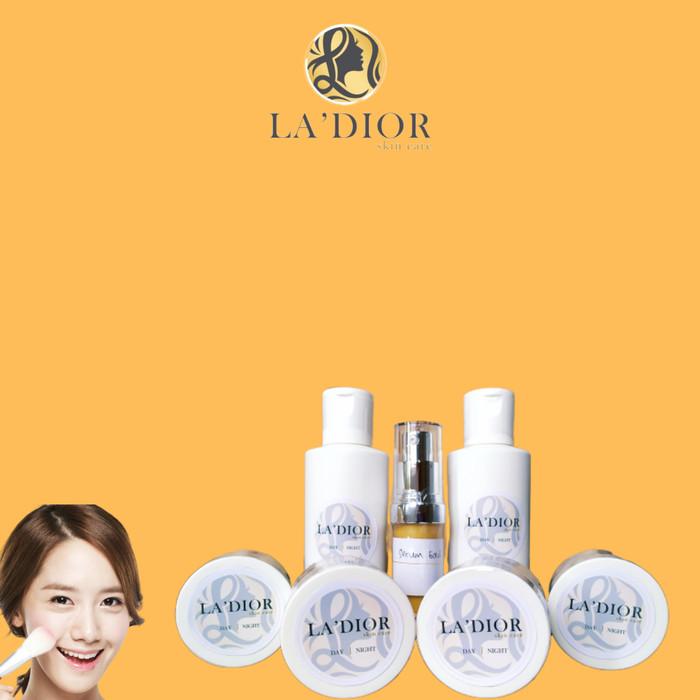 Foto Produk Cream(Paket Glowing) La'dior Skincare dari Ladior Skincare