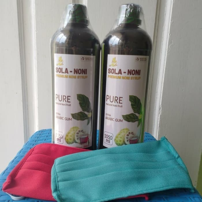 Foto Produk 100% Pure Noni Juice 550 ml solanoni dari Dehace Jakarta