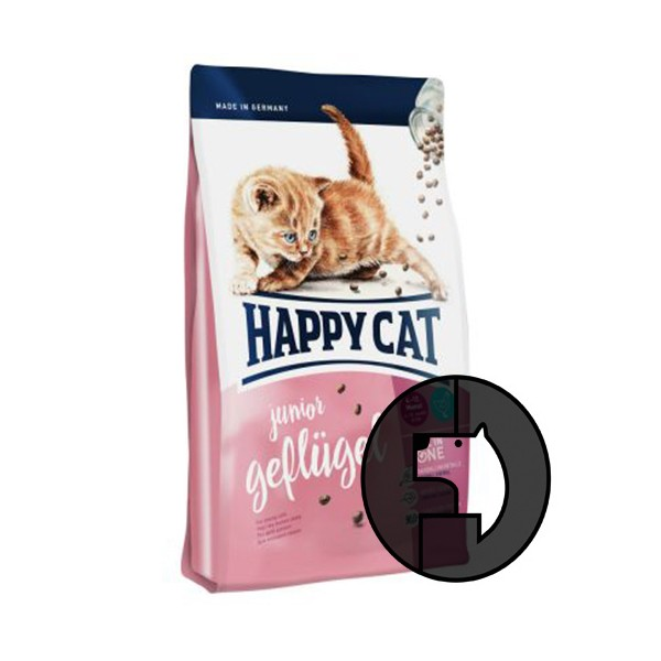Foto Produk EXP 22 JAN 20 happy cat 1.4 kg junior geflugel dari F.J. Pet Shop