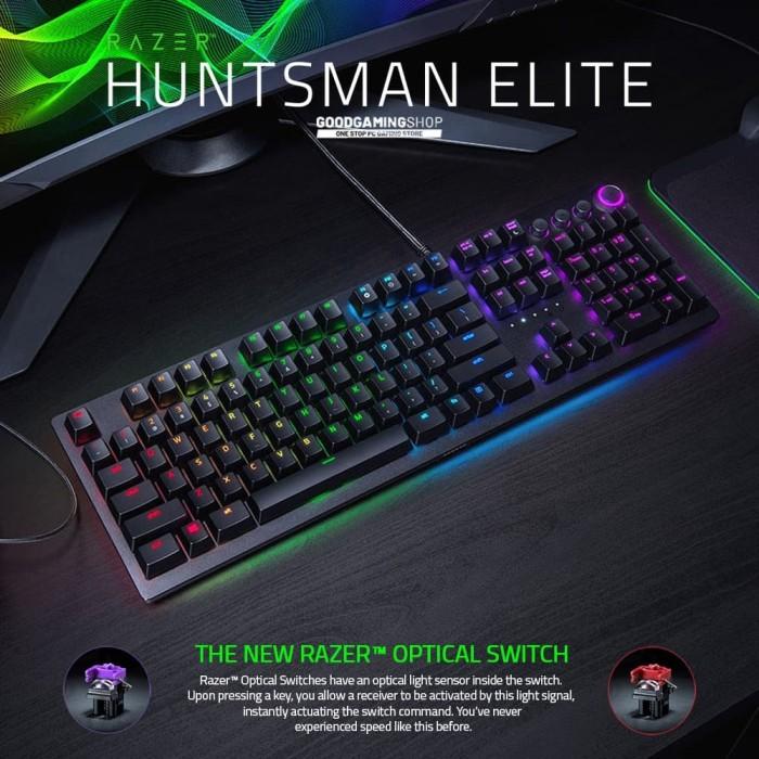 Foto Produk Razer Huntsman Elite - Gaming Keyboard dari GOODGAMINGM2M
