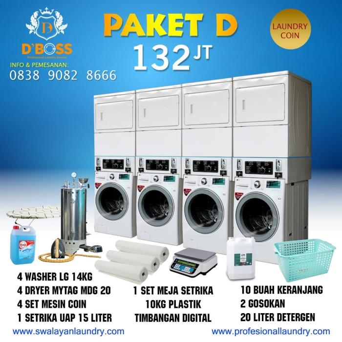 Jual Paket Laundry Coin Murah Lg Maytag 4 Set Jakarta Selatan Dboss Laundry Service Tokopedia