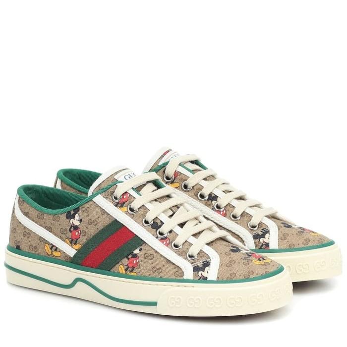 Jual Sepatu Gucci Original Gucci X Disney Mickey Mouse Sneakers