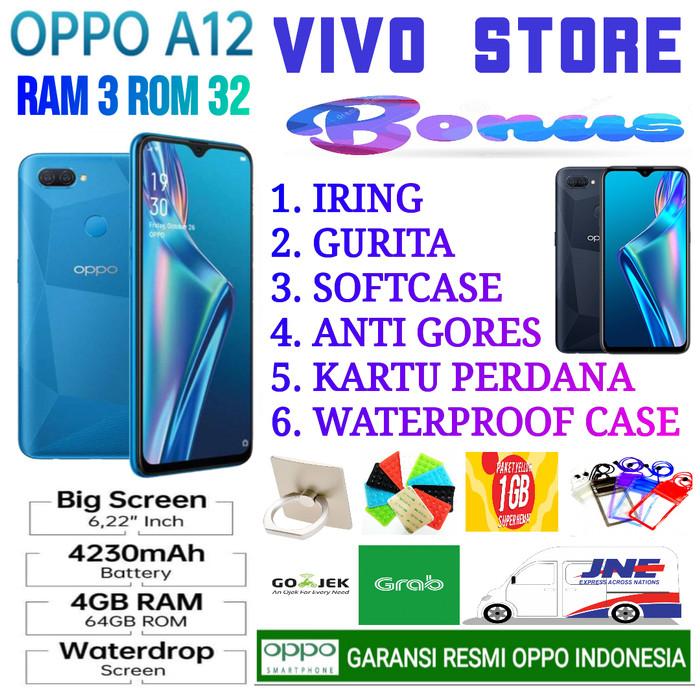 Foto Produk OPPO A12 RAM 3/32 GB GARANSI RESMI OPPO INDONESIA - Biru dari VIVO ST0RE