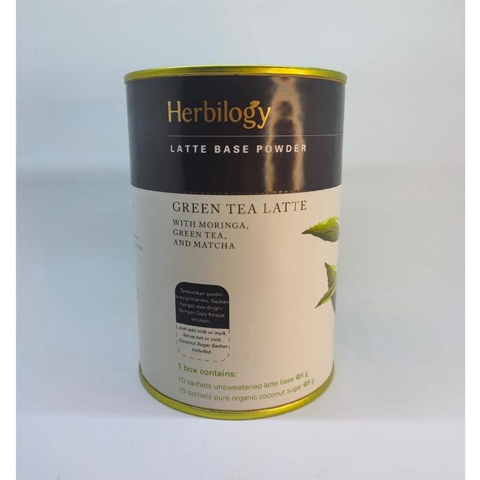 Foto Produk Herbilogy Green Tea Latte with Moringa, Green Tea & Matcha dari Kantin Organik