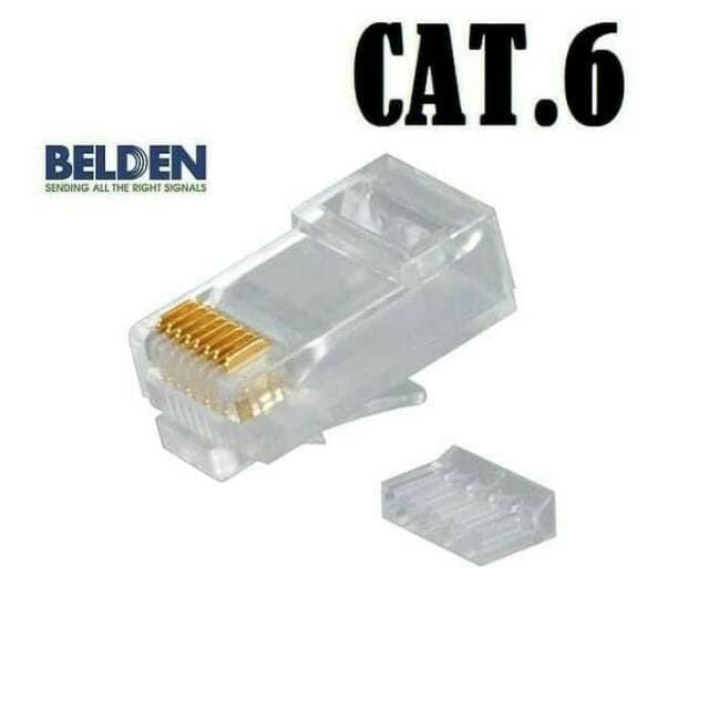 Foto Produk RJ45 Cat 6 Belden 50pcs dari BTGCOM