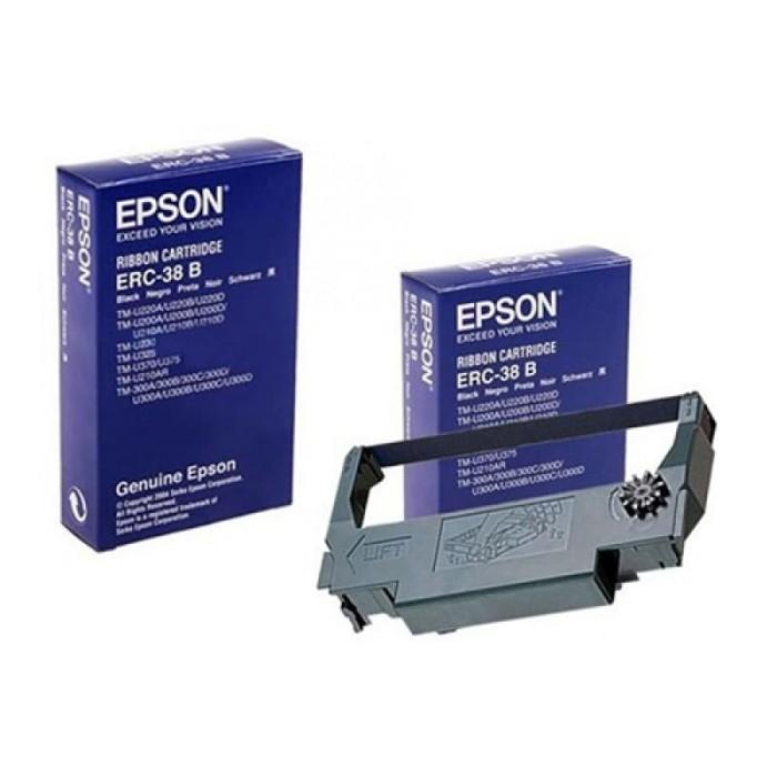Foto Produk Catridge Ribbon Epson ERC-38 B (For TMU) dari BTGCOM