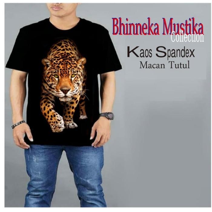Foto Produk KAOS SPANDEX Macan Tutul - Baju Gym Fitnes Training - Distro dari Bhinneka Mustika