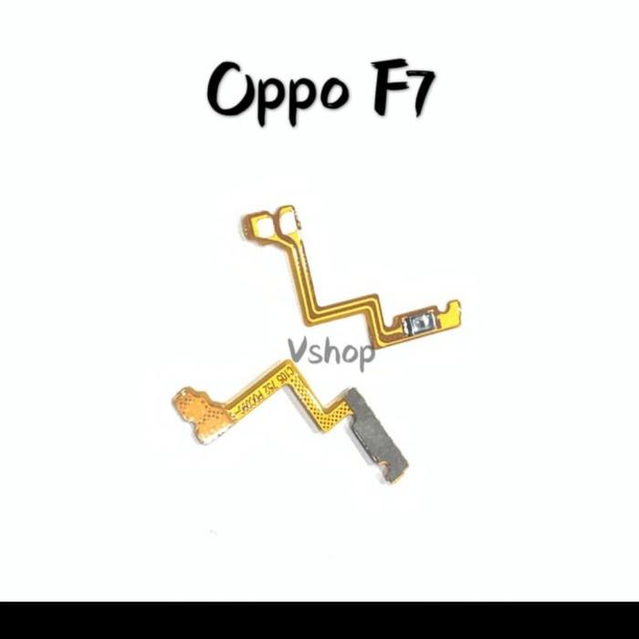 Foto Produk FLEXIBLE FLEXIBEL FLEKSIBEL ON OFF OPPO F7 CPH1819 hanya 1pcs dari techno phone cikarang