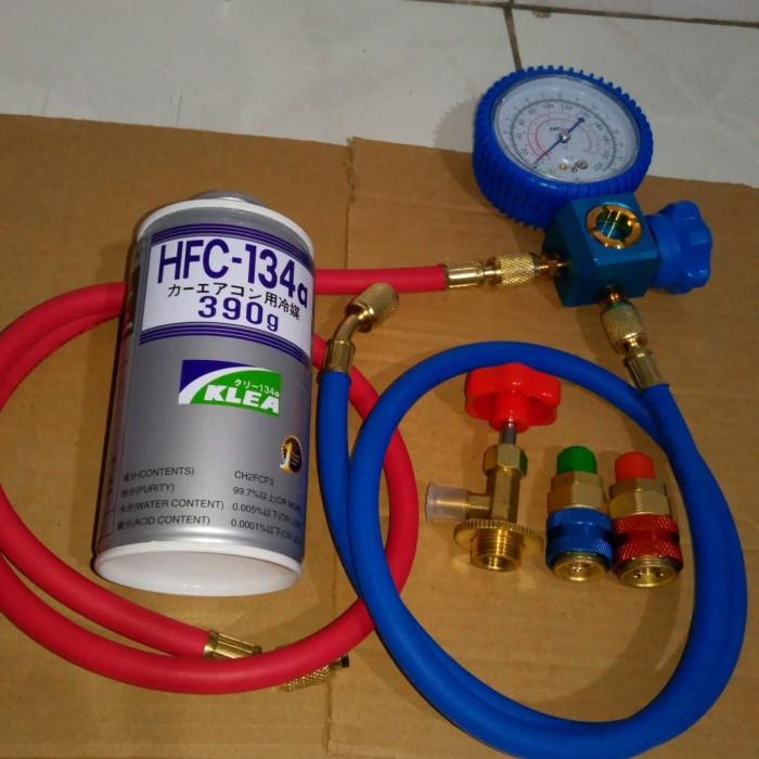 Jual Paket Isi Freon Ac Mobil Kulkas Dgn Single Manifold Sightglas Jakarta Barat Jef Electric Tokopedia