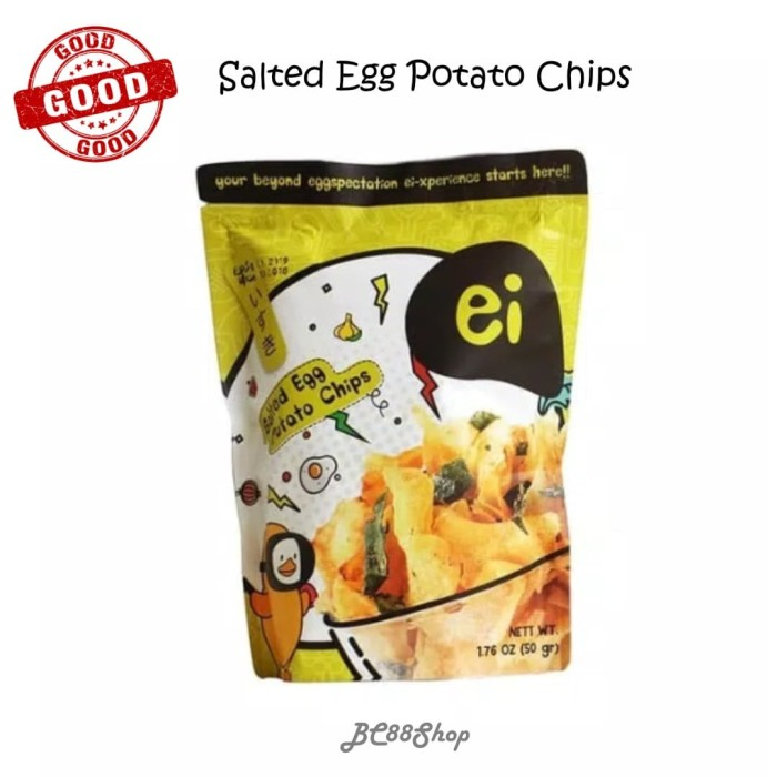 Foto Produk ei Salted Egg Potato Chips 60gr dari BC88Shop
