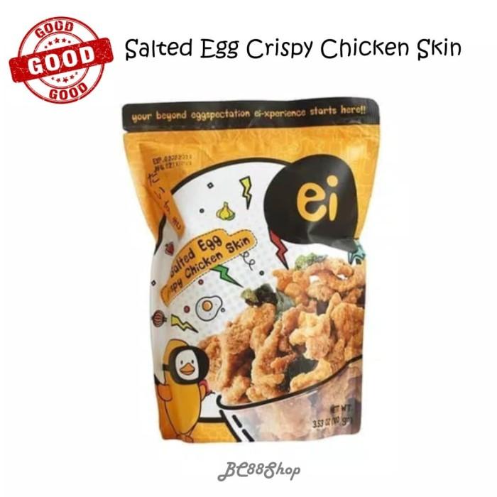 Foto Produk ei Salted Egg Crispy Chicken Skin 80gr dari BC88Shop