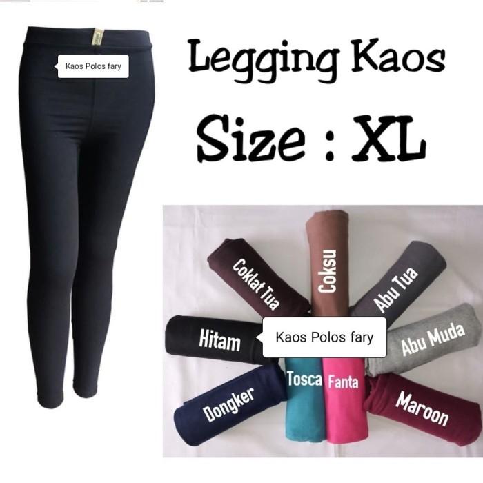 Jual Celana Wanita Legging Kaos Size Xl Kota Tangerang Selatan Al Ghifari W Tokopedia