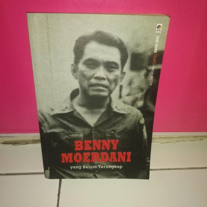 Foto Produk BUKU BENNY MOERDANI YANG BELUM TERUNGKAP dari BukuMurmerIndo