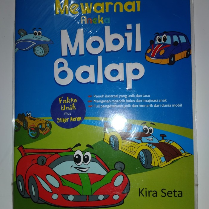 Jual Original Mewarnai Aneka Mobil Balap Jakarta Selatan Rkbookstore Tokopedia