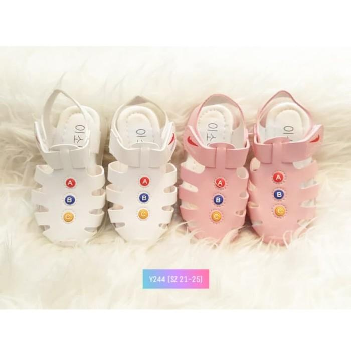 Foto Produk Sepatu anak import Sepatu sandal LED Bagus Murah Y244 - Putih, 21 dari TopKidShoes