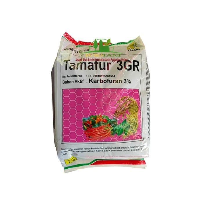 Foto Produk Karbofuran 3 % Basmi Ulat Wereng Penggerek Tamafur 3 GR 2kg dari Purotani