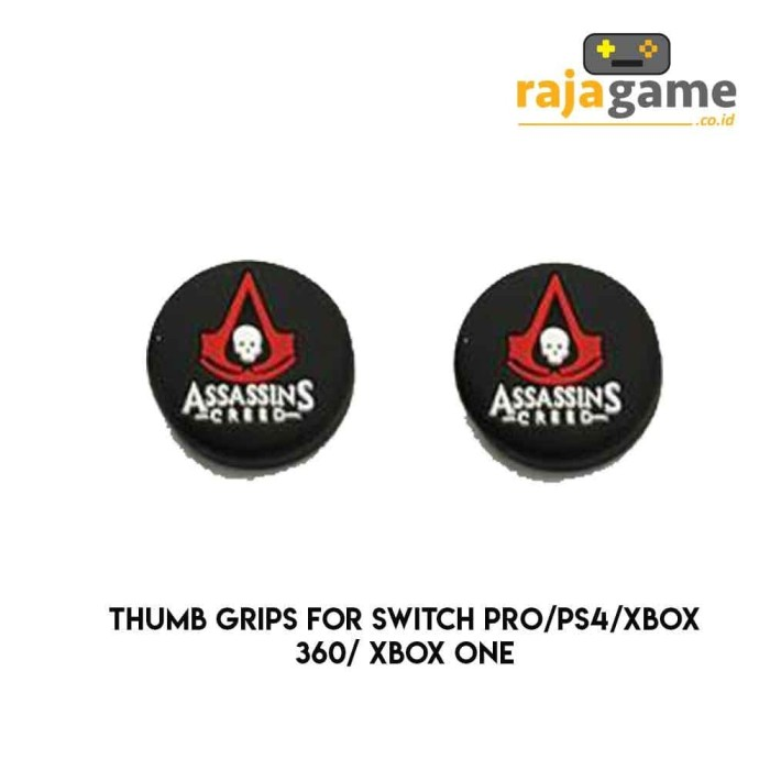 Jual Thumb Grips For Ps4 Xbox Switch Pro Isi 2pcs Assassins