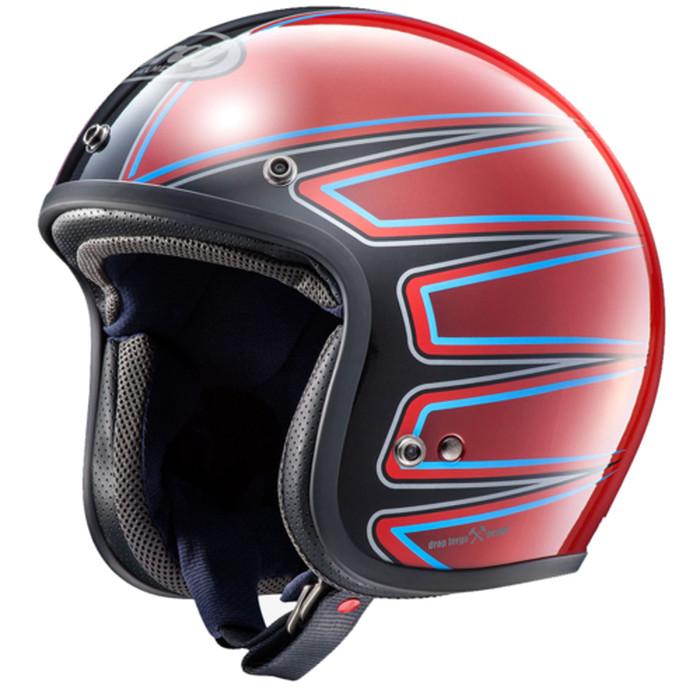 Foto Produk Helm Arai CLASSIC MOD - El Camino Red (SNI) dari Juragan Helm ID