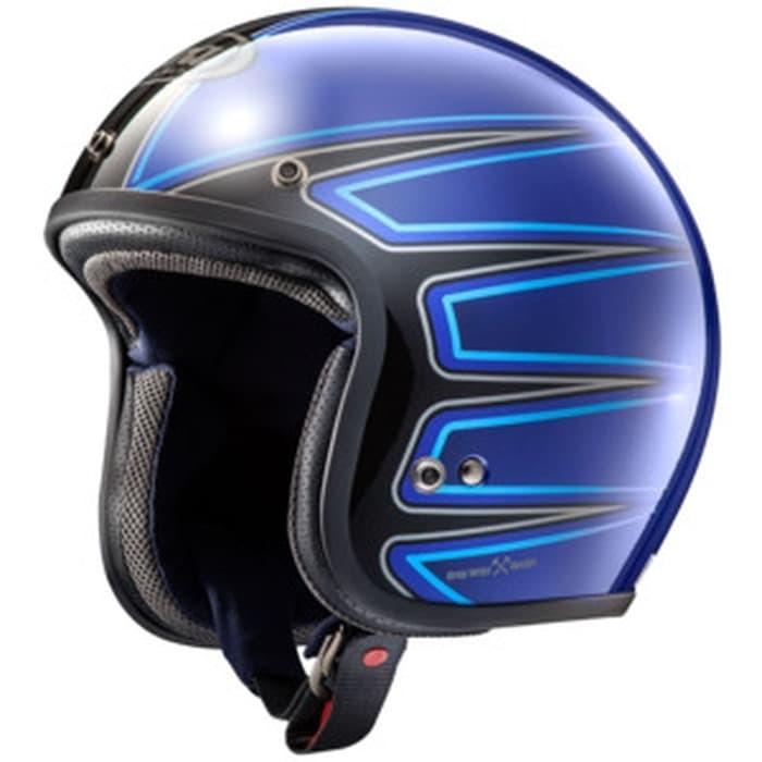 Foto Produk Helm Arai CLASSIC MOD - El Camino Blue (SNI) dari Juragan Helm ID