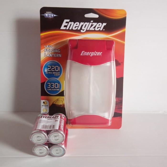 Foto Produk Lampu Camping Led Lipat |Energizer LED Folding Lantern FL455 + Baterry dari officemart