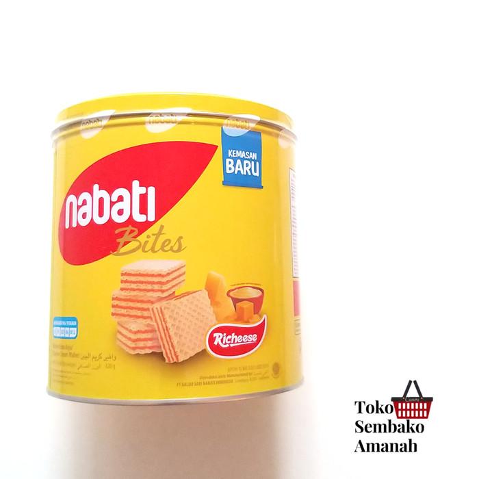 Foto Produk Nabati Recheese Wafer kemasan kaleng 320gr dari Sembako Amanah20