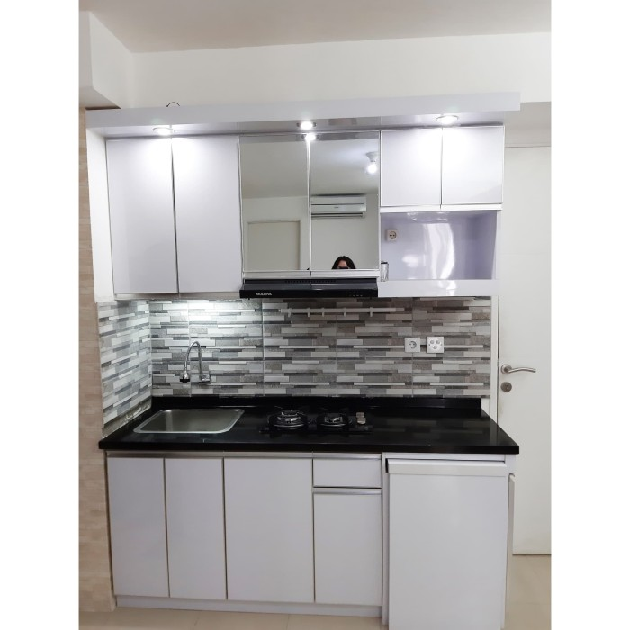 Jual Kitchen Set Uk 170 Meja Tarik Jakarta Barat Charmed Home Decor Tokopedia