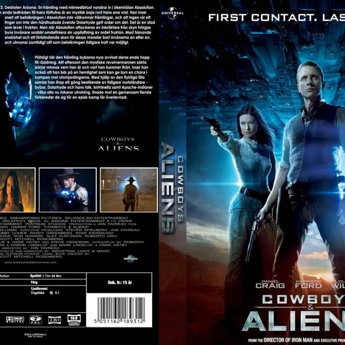 Jual Film Dvd Cowboys And Aliens 2011 Movie Collection Film Koleksi Jakarta Barat M Collector Tokopedia