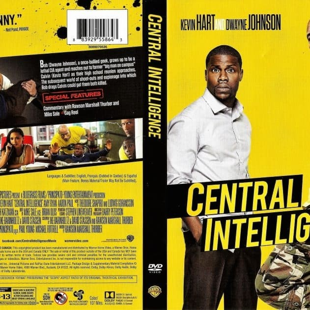Jual Film Dvd Central Intelligence 2016 Movie Collection Film Koleksi Jakarta Barat M Collector Tokopedia