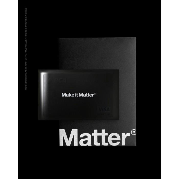 Foto Produk MAKE IT MATTER - FOLDED WALLET dari Makna Official Store