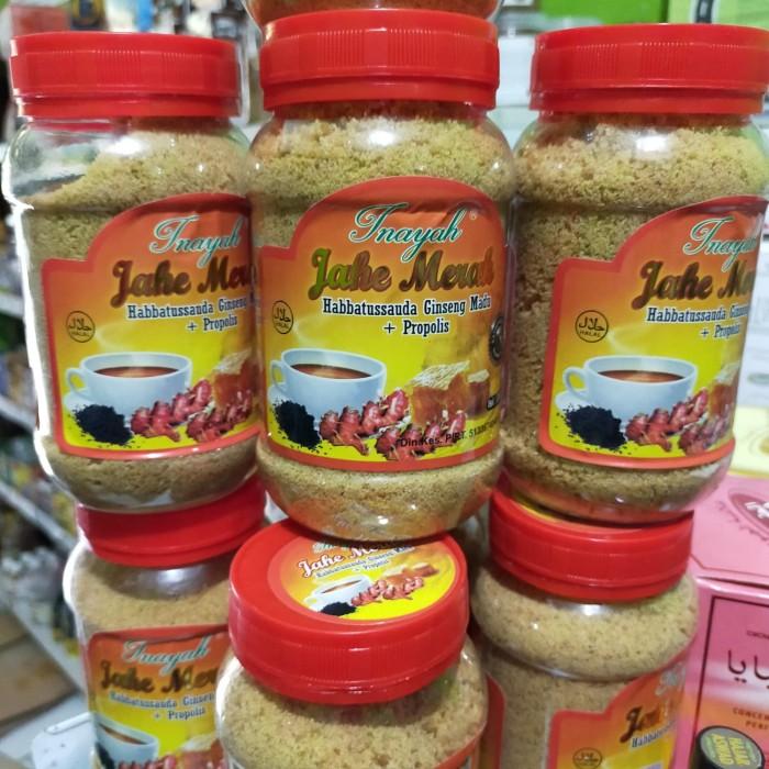 Foto Produk Jahe merah instant plus habbatusauda ginseng madu propolis jahe bubuk dari Toko Jordan