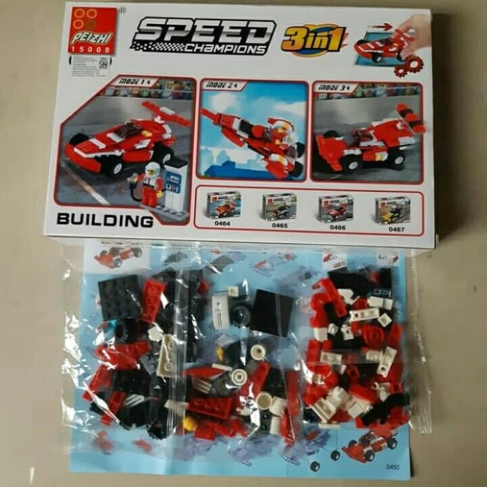 Jual Lego Mobil Balap 3 In 1 Speed Champions Car 144 Pcs Brick Block Peizhi Kota Bekasi Finyshop Tokopedia
