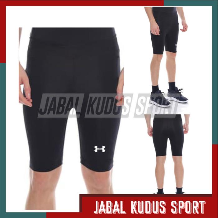 Jual Uaa Legging Pendek Pria Celana Baselayer Futsal Bola Sport Gym Pria Putih Kota Bandung Jabal Kudus Sport Tokopedia