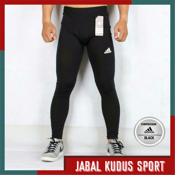 Jual Adidas Legging Sport Pria Celana Baselayer Panjang Futsal Bola Lari Kota Bandung Jabal Kudus Sport Tokopedia