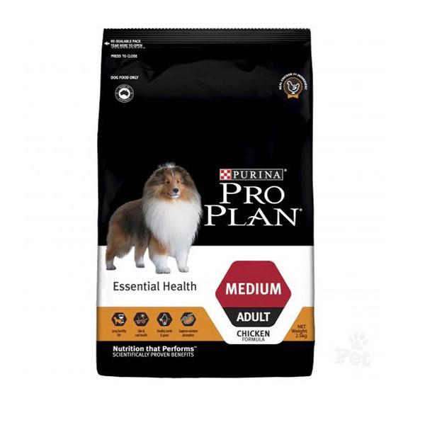 Foto Produk pro plan 2.5 kg dog medium chicken essential health (12391064) dari F.J. Pet Shop