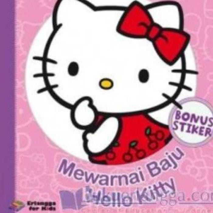 Jual Termurah Hello Kitty Mewarnai Baju Hello Kitty Jakarta Pusat Wallo Shop Tokopedia