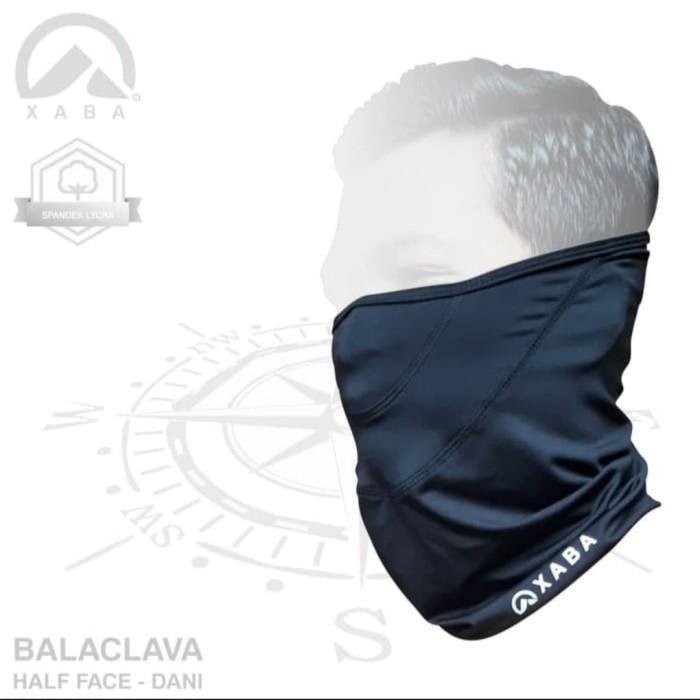 Jual masker XABA Balaclava half face mask masker outdoor
