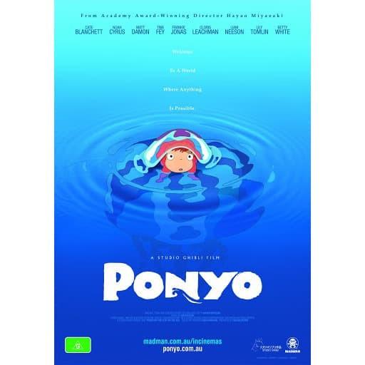 Jual Dvd Film Ponyo 2008 Kab Karawang Dvd Movie Update Tokopedia