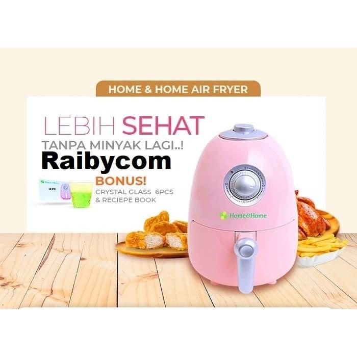 Foto Produk HOME & HOME Air Fryer Alat Goreng Memasak Tanpa Minyak Original Lejel dari Raibycom