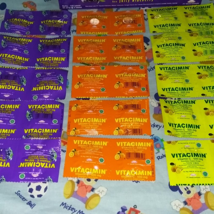 Foto Produk Vitacimin vitamin c dari ARRAZKA GREEN SHOP