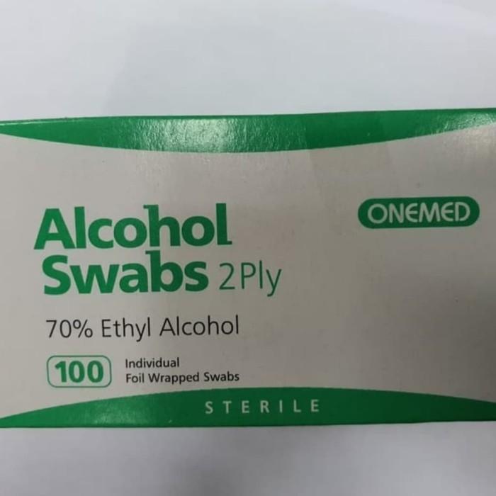 Foto Produk Alcohol Swab 70% OneMed dari The Plug