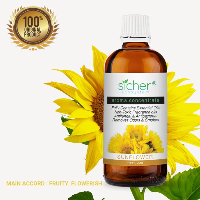 Foto Produk Sicher SA-102 Fragrance Oil sunflower 100ml dari Sicher Ecosystem