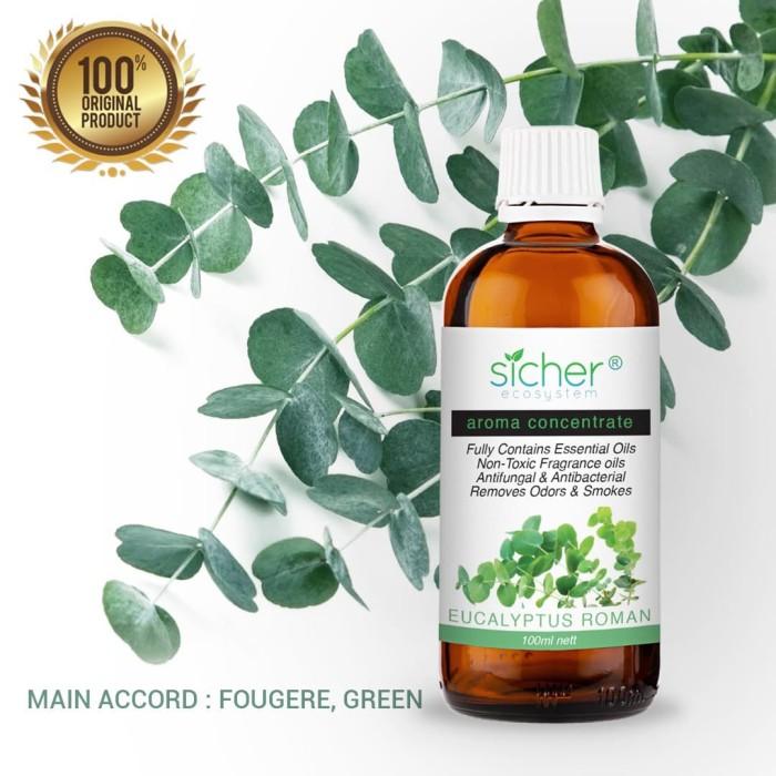 Foto Produk Sicher SA-102 Fragrance Oil Eucalyptus Roman 100ml dari Sicher Ecosystem