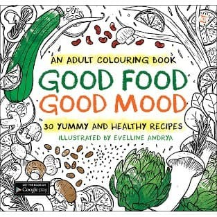 Foto Produk Good Food Good Mood - an adult coloring book dari Toko Kutu Buku