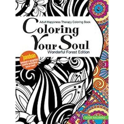 Foto Produk Coloring Your Soul Wonderful Forest Edition - Coloring Book dari Toko Kutu Buku