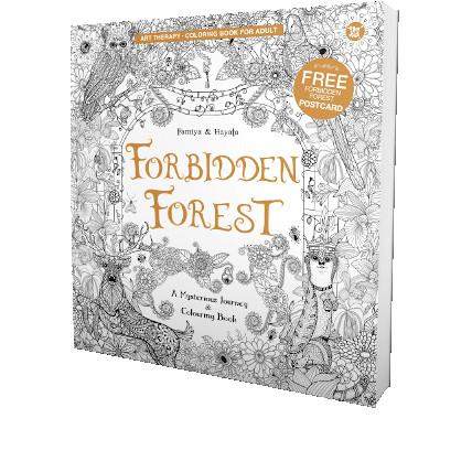 Foto Produk Forbidden Forest - Coloring Book for Adult dari Toko Kutu Buku